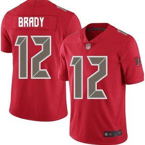 Youth Tampa Bay Buccaneers Tom Brady Red Jersey